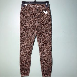 Vanilla Star Leopard High Rise Jegging
